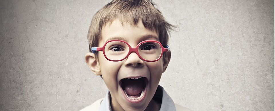 Happy boy with glasses - Pediatric Dentist in Springfield, MO